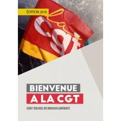 "Brochure ""Bienvenue à la CGT"""