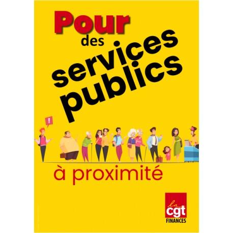Affiche services publics de proximité