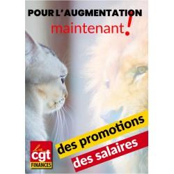 Affiche salaires promotions