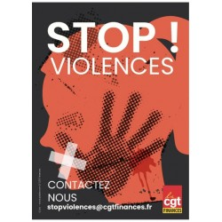 Flyer stop violences