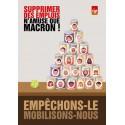 """Affiche """"Supprimer des emplois n'amuse que Macron"""""""