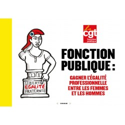 Fonction publique : gagner l'égalité professionnelle