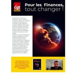 """4 pages """"Pour les finances, tout changer"""""""